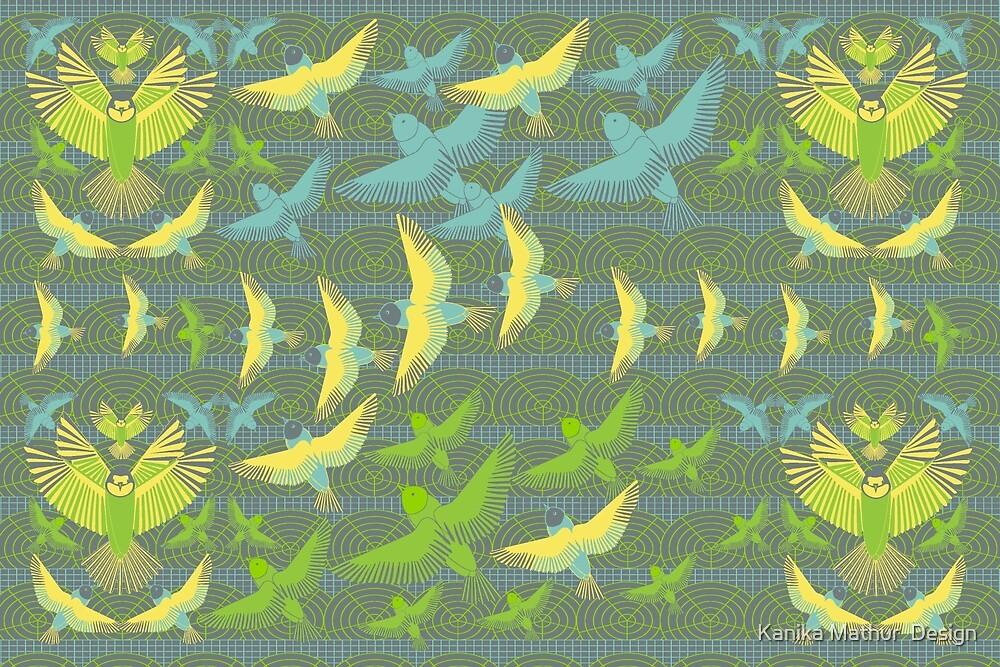 Bird Flight by Kanika Mathur  Design