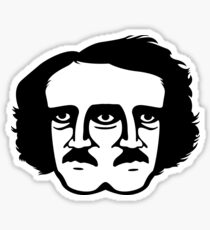 Two Faced Poe Sticker