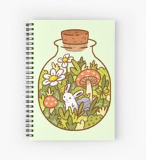 Bunny in a Bottle Spiral Notebook