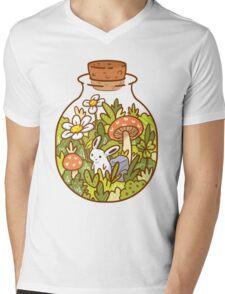 Bunny in a Bottle Mens V-Neck T-Shirt