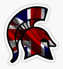 British Spartan Sticker