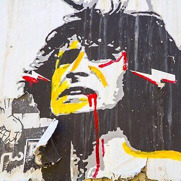 Melbourne Street Art Retrospective - AC DC Lane by darkydoors