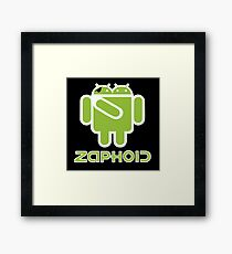ZAPHOID GOOGLEBROX - Droid Army Framed Print