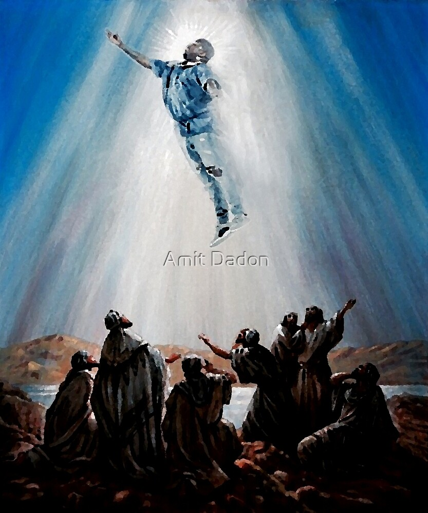 Yeezus Just Rose Again by Amit Dadon