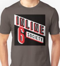 Inline 6 Society - Design #4 Slim Fit T-Shirt