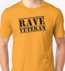 Rave Veteran - Black Unisex T-Shirt