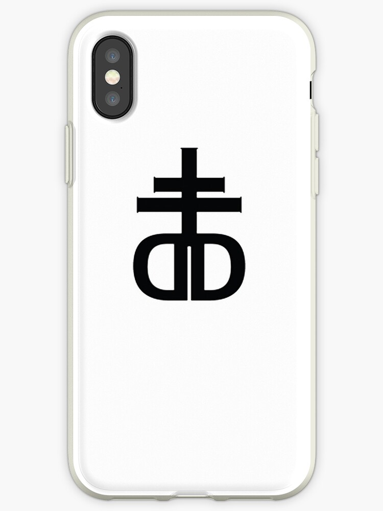 Drop Dead Logo Iphone Cases Covers By Tracts Redbubble