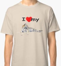 I love my Tiger (for light) Classic T-Shirt