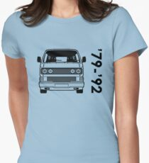 Type 2 T3 Womens Fitted T-Shirt