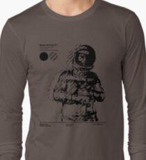 Space Journey 3.1 (black Long Sleeve T-Shirt