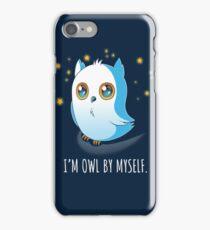 Owl by Myself iPhone Case/Skin
