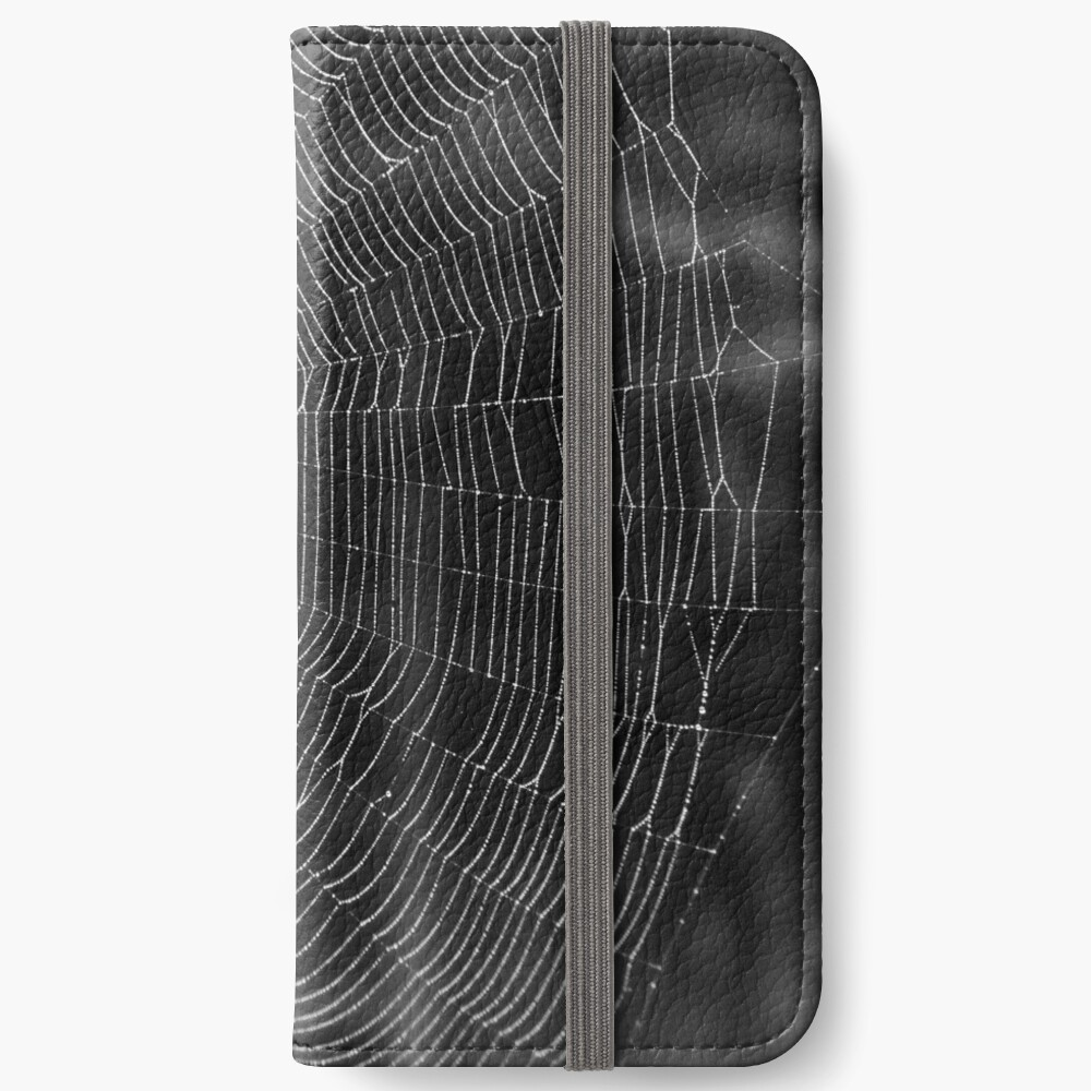 Spider Web iPhone Wallet