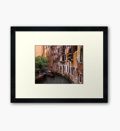 VeniceTourists Framed Print