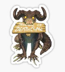 Beware Of Deathclaw Sticker
