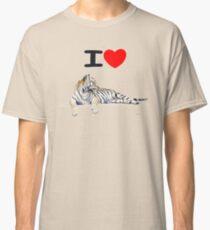 I love Tigers Classic T-Shirt