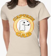 Captain Cab. Womens Fitted T-Shirt