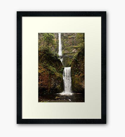 Multnomah Falls- Oregon Framed Print