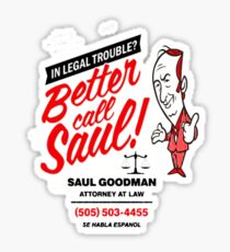 Better Call Sticker