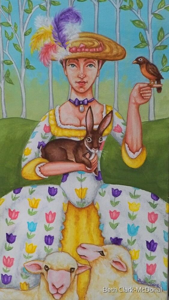 Spring Colonial by Beth Clark-McDonal