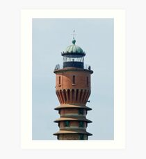 Lighthouse in Dunkerque France. Art Print