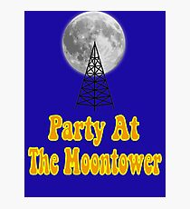 Party At The Moontower - Dazed And Confused Photographic Print
