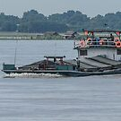 River Traffic 2 by Werner Padarin