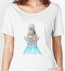 Alice in Wonderland design Women's Relaxed Fit T-Shirt