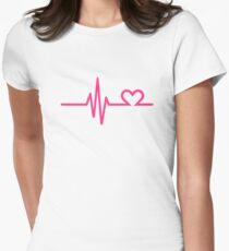 Frequency heart love T-Shirt
