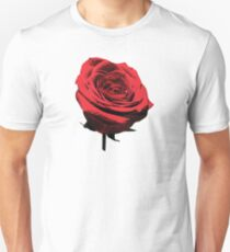 Red, Red Rose Unisex T-Shirt