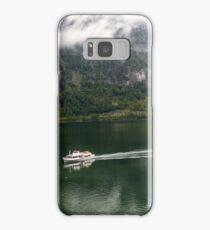 Discover Lake Hallstatt, Austria Samsung Galaxy Case/Skin