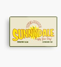 Welcome to Sunnydale Metal Print