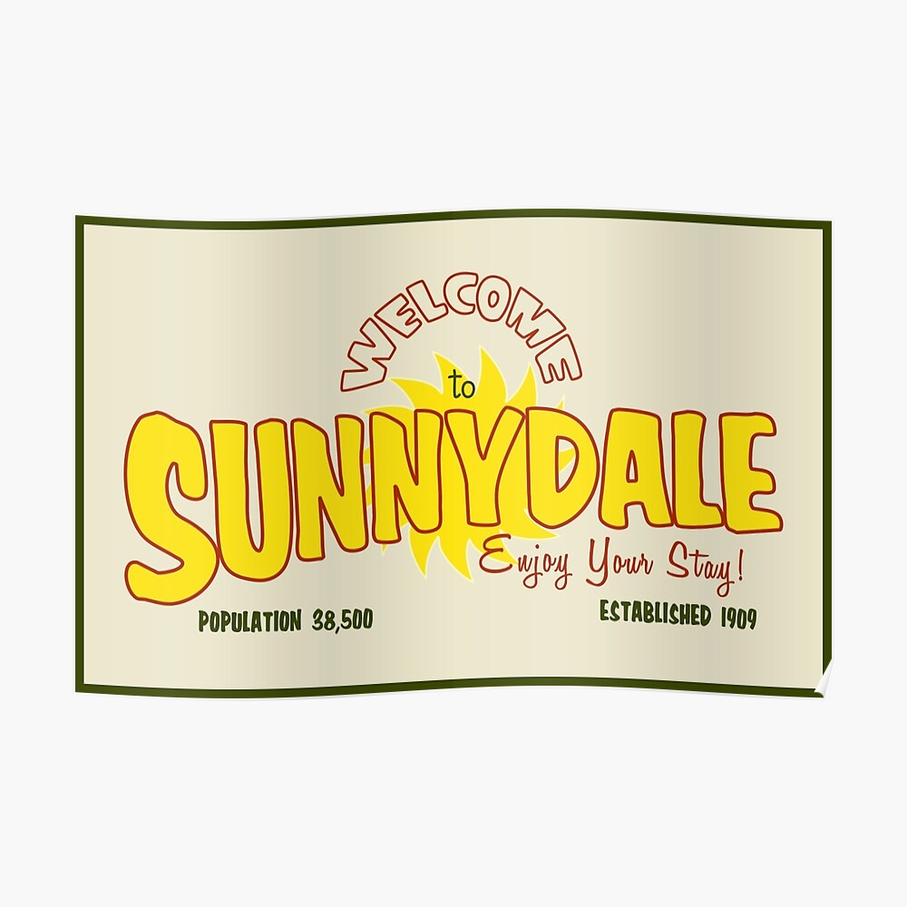 Bienvenido a Sunnydale Póster