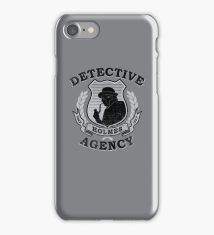 Holmes Agency iPhone Case/Skin