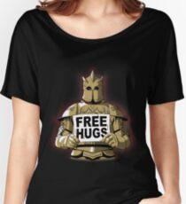 Kostenlose Umarmungen am Berg Baggyfit T-Shirt