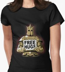 Free Hugs by The Mountain Women's Fitted T-Shirt