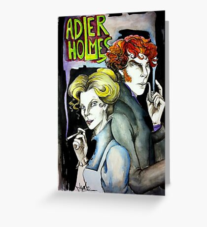 Adler & Holmes - Consultants Greeting Card