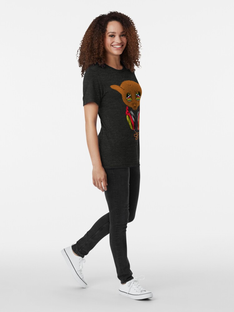 Alternative Ansicht von DJ Tarsier Vintage T-Shirt