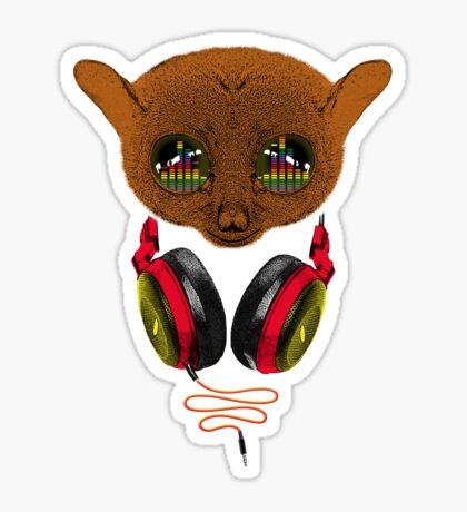 DJ Tarsier Sticker