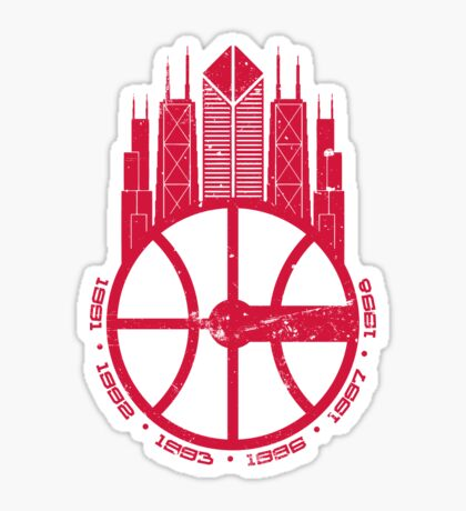 Chicago Balls Sticker