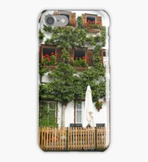 Pears grows on the house in Hallstatt iPhone Case/Skin