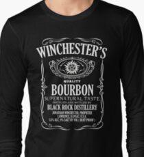 Supernatural Tasting Bourbon Tee T-Shirt