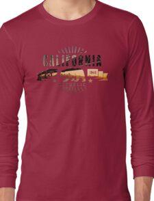 California Skyline Long Sleeve T-Shirt