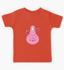 Matryoshka with Peacock Feathers Kids Clothes