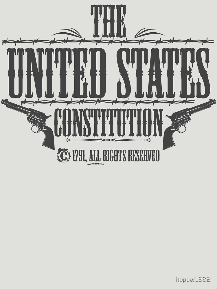 The United States Constitution - All rights reserved by hopper1982