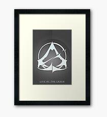 Emblem Variant 2 Framed Print