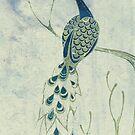 Dusky Peacock by Zsuzsa Goodyer