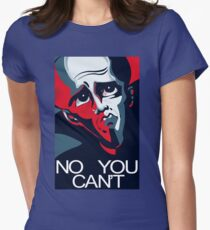Megamind No You Can't Women's Fitted T-Shirt