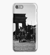 Berlin meets Darth Vader...and a trooper... iPhone Case/Skin