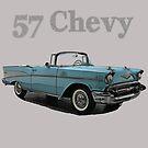 57 Chevy by crimsontideguy