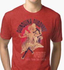 QuinQuina Dubonnet Aperitif  Dans Tous Les Cafes Tri-blend T-Shirt